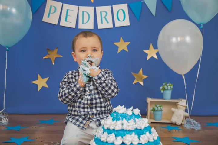 Smash the Cake do Pedro