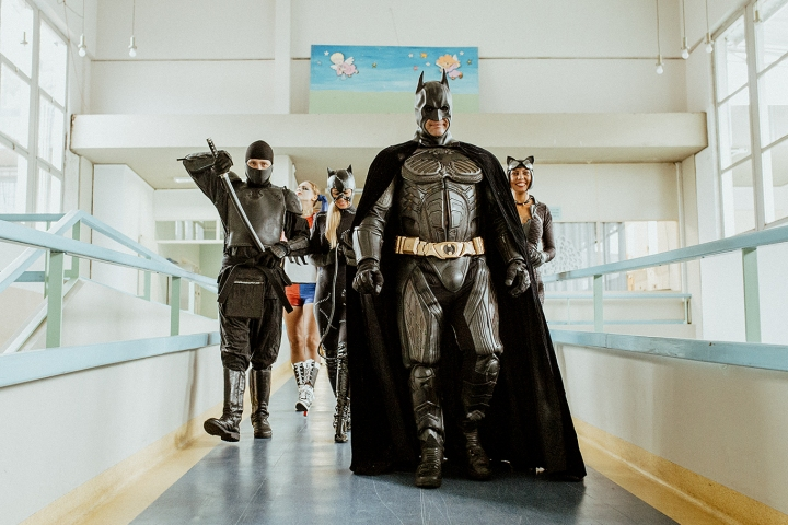 Turma do Batman: Ação Hospital Joana de Gusmão